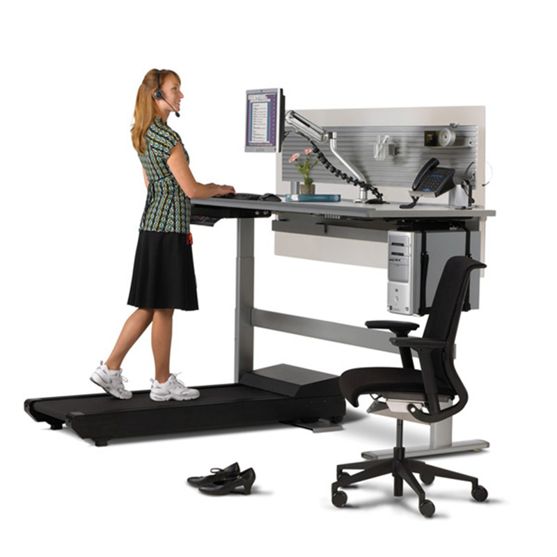 Tired of Sitting at Work? Four Reasons to Try a Treadmill Desk