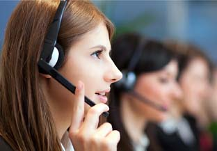 Customer Service representative working for your Virtual Office